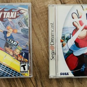 Power Stone and Crazy Taxi (Sega Dreamcast) - Lot of 2 for Sale in Livermore, CA
