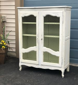 Shabby chic cabinet for Sale in Centreville, VA