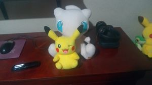 Mew & Pikachu Plushies for Sale in Chandler, AZ