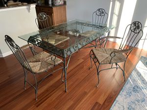 5ft x 3.5ft dining or patio table for indoors or outdoors furniture for Sale in Simpsonville, SC