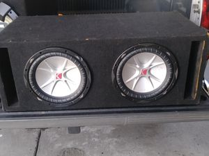Kicker Subwoofer 10s for Sale in Ontario, CA