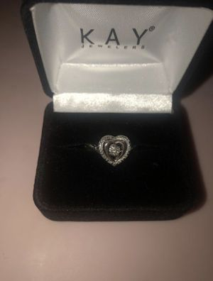 KAY Diamonds in Rhythm 1/20 ct tw Ring Sterling Silver/10K Gold for Sale in Bolingbrook, IL