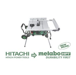 Metabo HPT 10-in Carbide-Tipped Blade 15-Amp Table Saw for Sale in Katy, TX