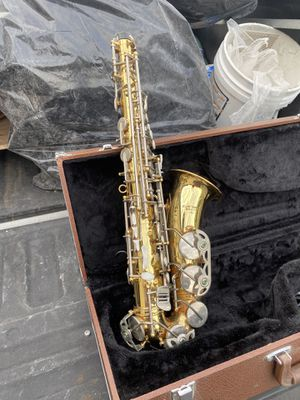 Old alto saxophone works great for Sale in San Diego, CA
