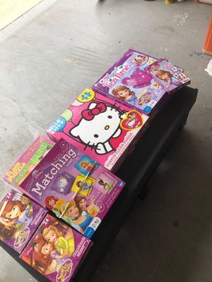 Disney puzzles and games for Sale in Pasadena, CA