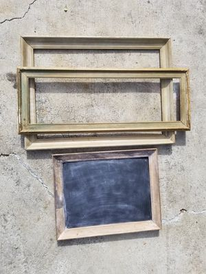 Antique frames w/custom cut glass for Sale in Los Angeles, CA