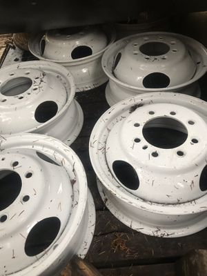 "Dually wheels 16"", 8 lug (6.5"" on center) for Sale in Poulsbo, WA"