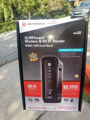 Motorola (surfboard) modem & wi-fi router for Sale in Penn Hills, PA