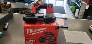 Milwaukee band saw 2429-20 for Sale in Tampa, FL