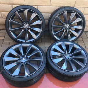 "Tesla 21"" Wheels Non-Staggered for Sale in Glendora, CA"