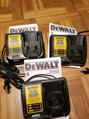 Dewalt Charger 20V NEW $30 Each for Sale in Norwalk, CA