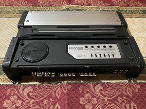 Kenwood - 180W x 4 Class AB Bridgeable 4-Channel Amplifier for Sale in Mesquite, TX