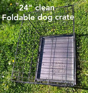 """24"""" dog crate in good condition for Sale in San Lorenzo, CA"""