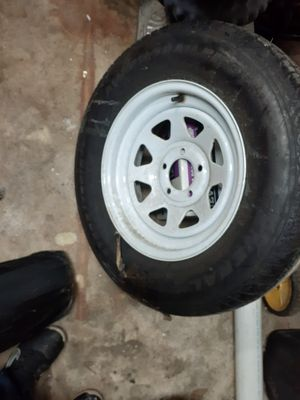 15 inch camper tire and rim brand new for Sale in Columbus, OH
