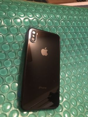 FULLY UNLOCKED iPhone X - 64GB - Black for Sale in San Diego, CA