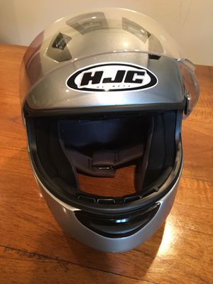 HJC Woman's Motorcycle Helmet, Silver, Size Small for Sale in Issaquah, WA