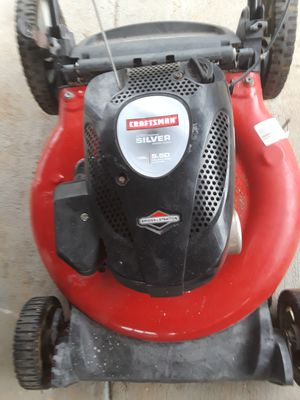 Craftsman push mower starts but cutts of may need carburetor cleaning for Sale in Mableton, GA