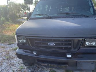 Ford Van Blue 2007 for Sale in West Palm Beach,  FL