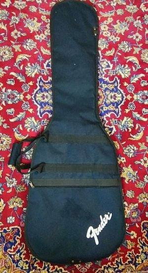 Fender electric bass guitar case !! $30 or best offer !! for Sale in Oakland Park, FL