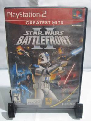 Star Wars: Battlefront II (PlayStation 2, PS2, 2005, Greatest Hits) COMPLETE for Sale in Los Angeles, CA