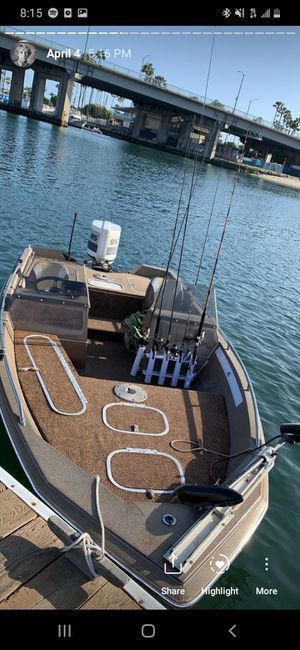 1985 bayliner bass boat for Sale in Long Beach, CA