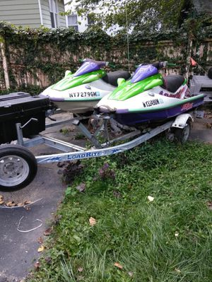 Jet skis with trailer for Sale in Mount Vernon, NY