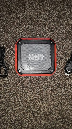 Klein Tools Bluetooth Speaker for Sale in Dallas, TX