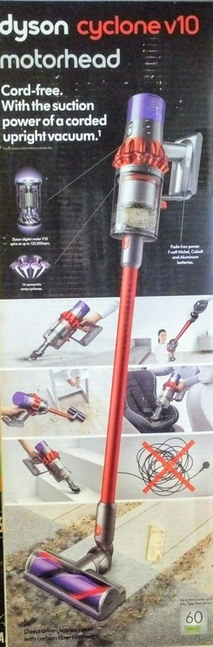 New Dyson Cyclone V10 Motorhead Cordless Vacuum for Sale in Orange, CA