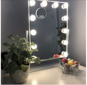 Hansong Hollywood Mirror with Light, Lighted Vanity Makeup Mirror, 12 Bulb for Sale in Las Vegas, NV