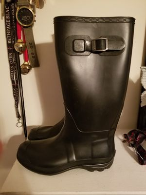 Rubber Rain Boots (Size 7 womens) for Sale in Aspen Hill, MD