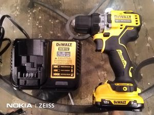 DeWalt 12V Brushless Cordless Drill Driver PLUS battery, charger for Sale in Washington, DC