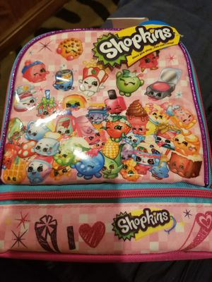 Shopkins lunch box n sandwich holder for Sale in Plant City, FL
