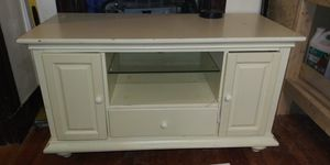 Mint entertainment center with storage drawers for Sale in Somerville, MA