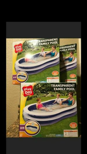 ".BRAND NEW INFLATABLE SWIM CENTER FAMILY LOUNGE POOL, 103""X69""X20"" FIRM $35 EACH for Sale in Riverside, CA"