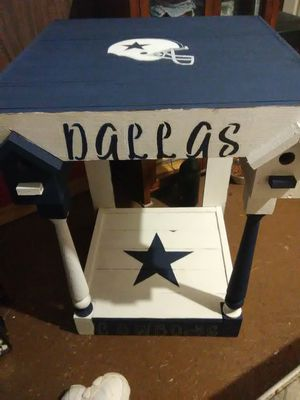 Bird house bench of cowboys for Sale in Canyon, TX