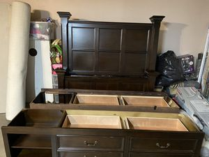QUEEN BED FRAME for Sale in Apple Valley, CA