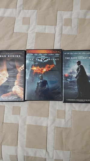 Dark knight trilogy for Sale in Pomona, CA