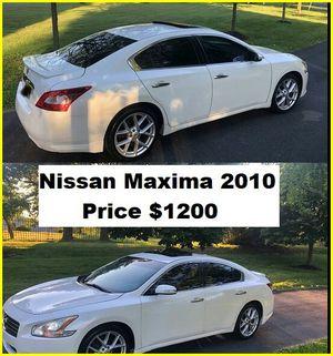 ֆ12OO_2010 Nissan Maxima S for Sale in Sarasota, FL