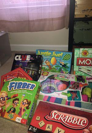 Family Fun Board Games for Sale in Ashburn, VA