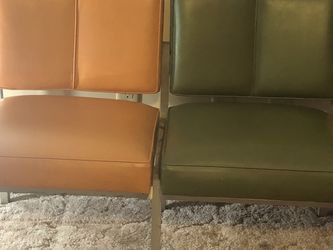 Retro 70s Chair And A Half for Sale in Ashburn,  VA