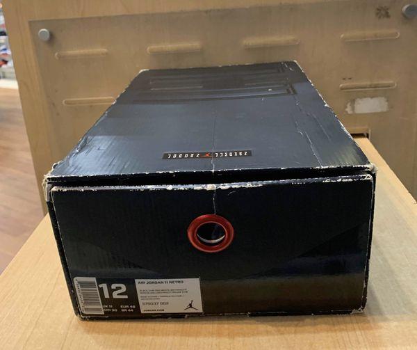 Air Jordan 11 72-10 Size 12