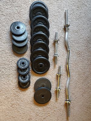 Weights and bars for Sale in Mill Creek, WA