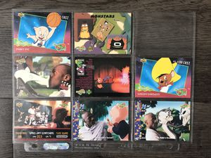 Jordan space jam vintage collectible cards for Sale in Los Angeles, CA