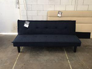 Navy Blue Futon ‼️Black Friday Sale‼️ for Sale in Dallas, TX