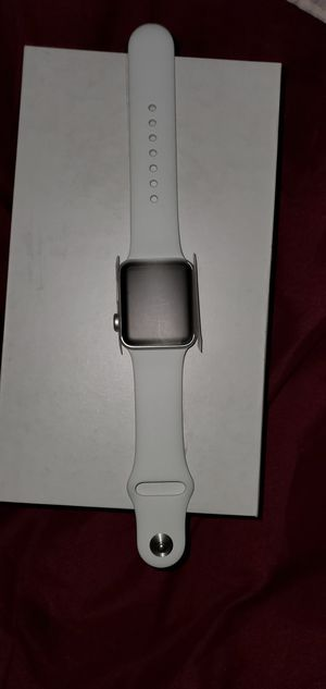 Apple watch series 3 38mm GPS+LTE (Silver) for Sale in Stockton, CA