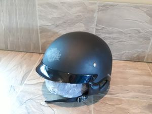 Harley Davidson Motorcycle Helmet XL Half Black for Sale in Glen Burnie, MD