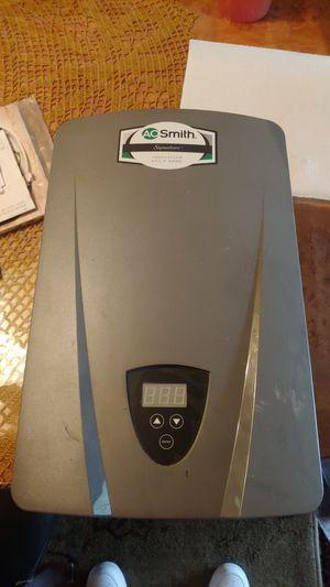 AO Smith tankless water heater for Sale in Houston, TX