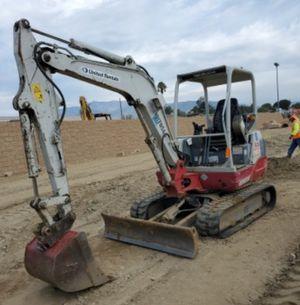 2013 Takeuchi TB235 Mini Excavator for Sale in Colton, CA