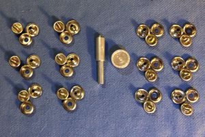 General Tools 1267 Screw Snap Fastener Kit with 12 Fasteners for Sale in Portland, OR
