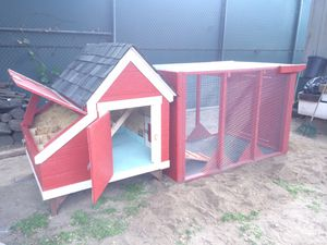 Chicken coop & run with delivery for Sale in Arroyo Grande, CA
